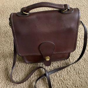 Coach vintage brown Cross body bag 10 x 9